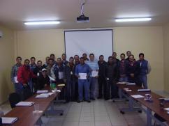 Curso de Estampados Magna en Saltillo, Coahuila 2015